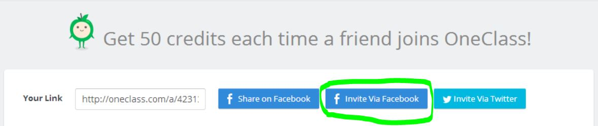invite-via-facebook-oneclass