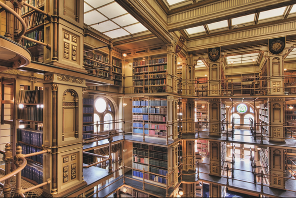 10 University Libraries That Are Beautiful, Cool, and Strange ...